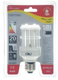 GLF82-20 E27 luce calda