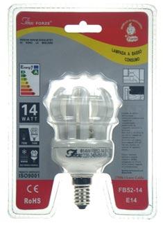 FB52-14 E14 luce calda