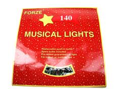 140 Luci musicali