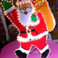 Babbo Natale c/sacco regali - Per esterno