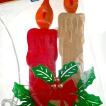 """Decorazioni natalizie  da interno """"Candele"""""""