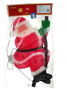 """Decorazioni natalizie  da interno """"Babbo Natale"""""""