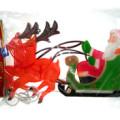 "Decorazioni natalizie  da interno ""Renne c/slitta"""