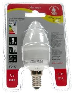 H-31 E14 luce calda