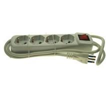Multipresa da 4 c/interruttore
