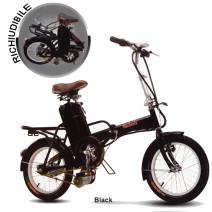 Bicicletta Elettrica Richiudibile colore nero