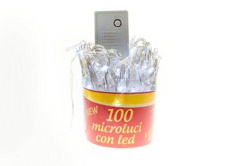 100 Microluci a led
