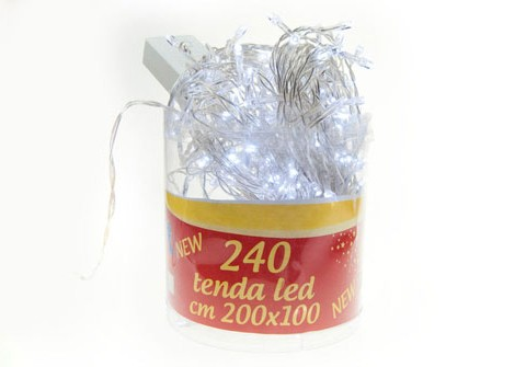 240 Microluci tenda led