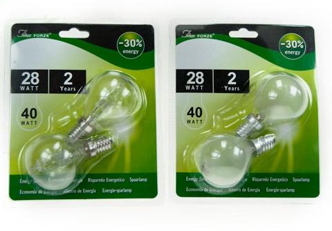 Lampada alogena risparmio energetico 2